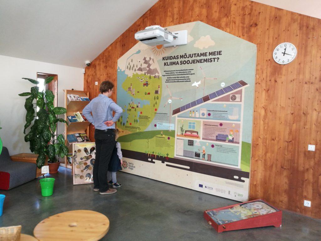 kliima soojenemine interaktiivne sein Tartu loodusmajas