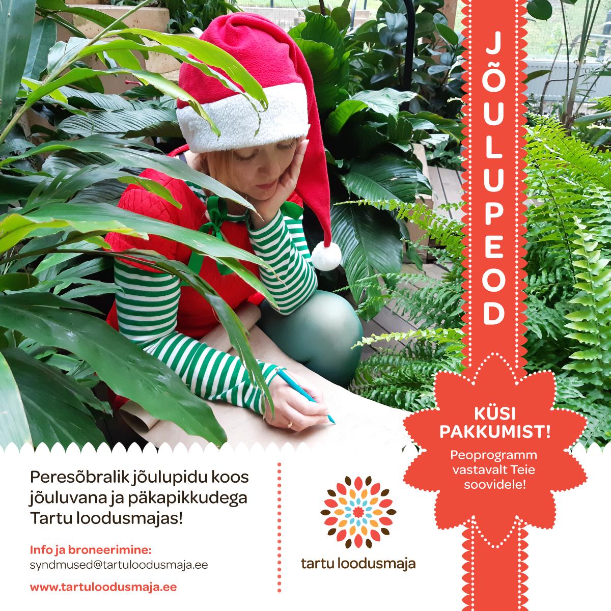 Tartu loodusmaja jõuluetendus 2019