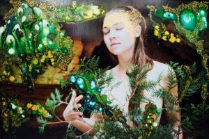 """Ruudu Rahumaru fotomaalide näitus """"Maa embus ja tule laul"""""""