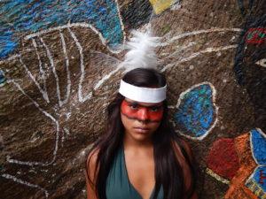 Amazonase hõimu Huni Kuin'ide näitus