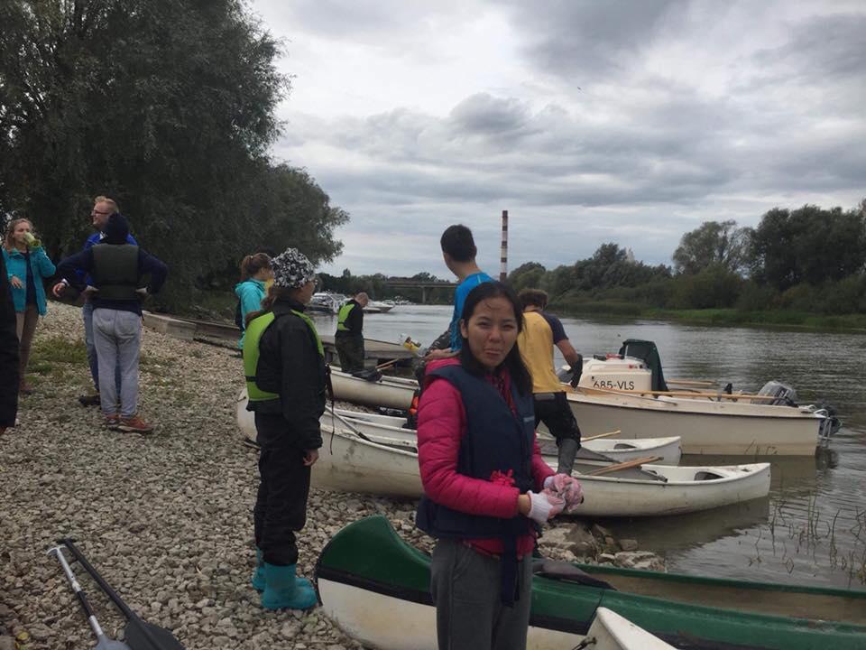 Rohelise Tee Õhtu From China to Estonia: my journey on environmental protection