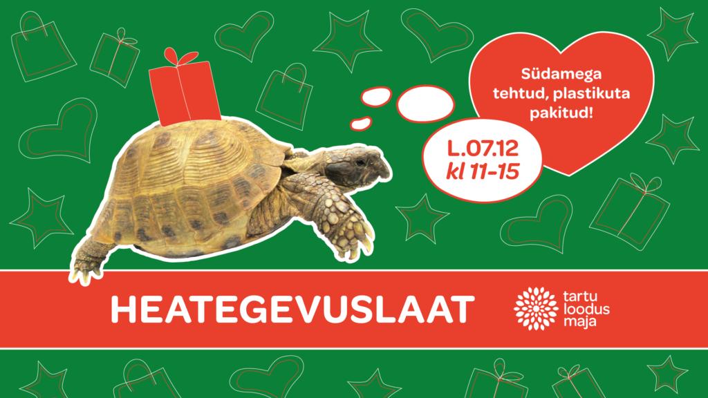 Tartu loodusmaja heategevuslik jõululaat 2019