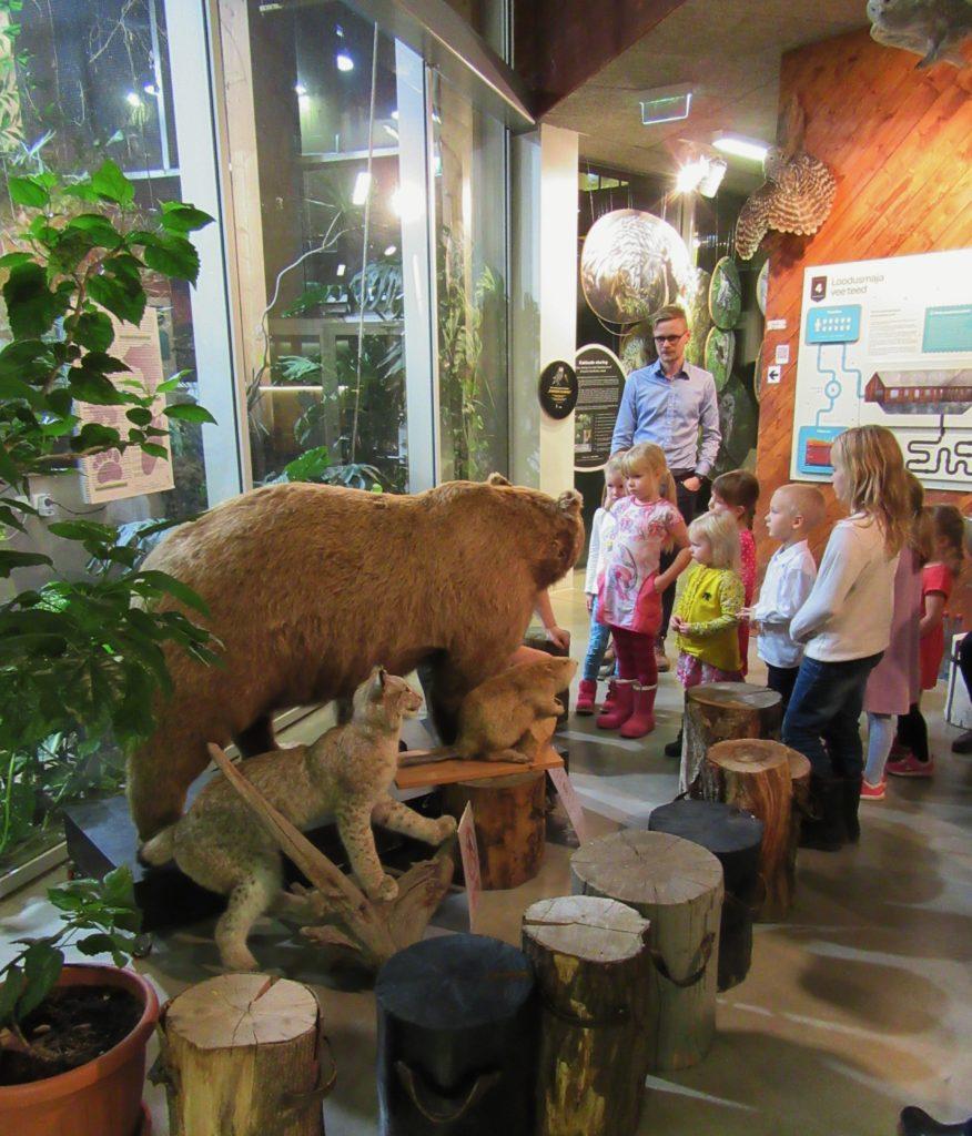 Tartu loodusmaja maja ekskursioonid ja tuurid külastajatele