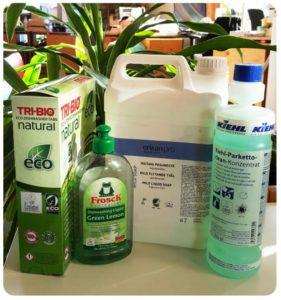 Keskkonnasõbralikud puhastusvahendid Tartu loodusmaja