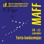 MAFF nädalalõpp Tartu loodusmajas 26.-27.09.2020