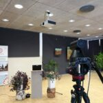 Virtual event studio at Tartu Nature House. Stay connected with your audience!