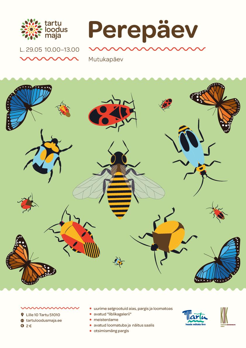 perepäev putukad
