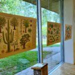 """Piotr Socha illustratsioonide näitus """"Puud"""" 3.06-30.09.2021"""