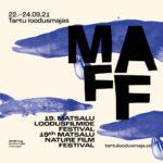 Matsalu Nature Film Festival in Tartu 22.-24.09.2021